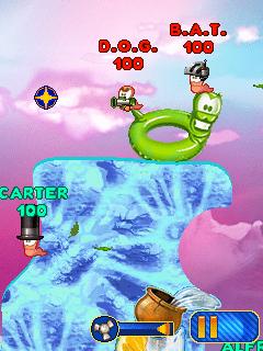 Baixar jogo para celular Worms 2010 Mobile (em português) grátis