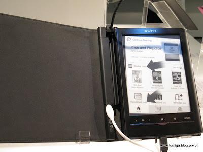 E-czytnik od Sony