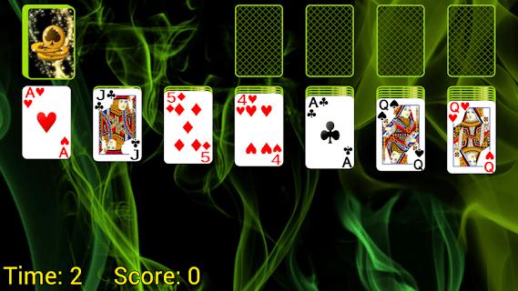 Solitaire screenshot 01