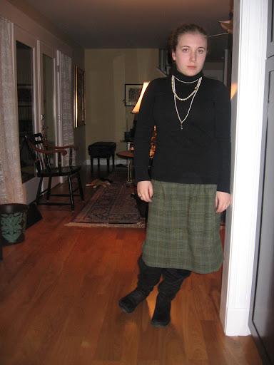 Green S.A. skirt