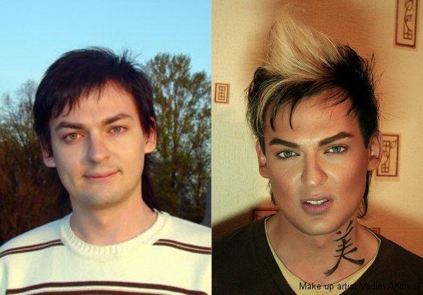 makeup before after vandreev 2 - 13 Fotos de maquiagem incríveis antes e depois