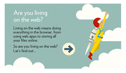 are you living on the web?