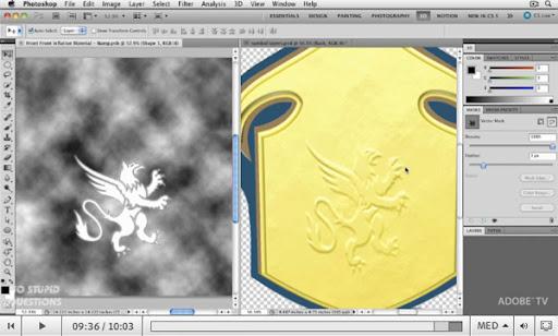 將 Illustrator 檔案圖層化並與 Photoshop 3D 圖層整合的應用技巧