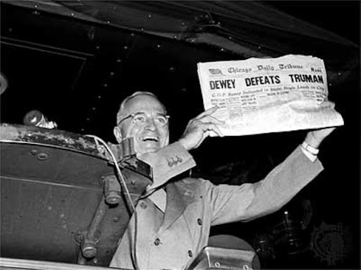 the Cucking Stool: Dewey defeats Truman!