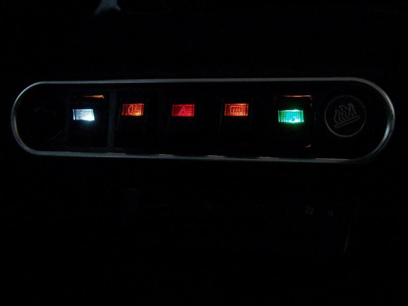Beleuchtete Schalter