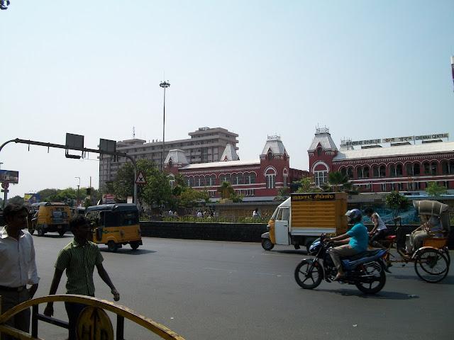 Road near Station