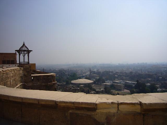 Vistas del Cairo desde la ciudadela.