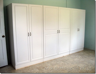 my cottage of bliss laundry room storage on lowe s laundry room storage cabinets id=99314
