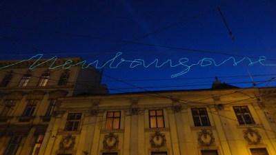 A sign. Vienna, Austria