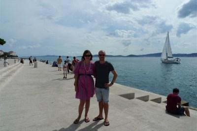 Zadar, right near the Sea Organ