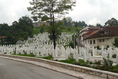 Just near our hostel. All died during the 'siege'