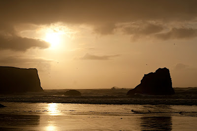Bandon Beach Sunset, Oregon