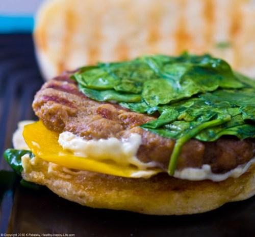 Vegan Breakfast Ideas... Breakfast Sandwich