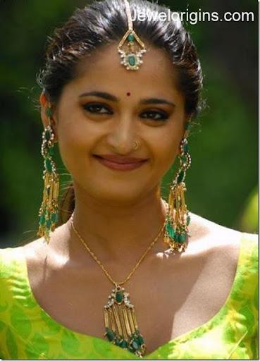 Image result for anushka shetty earring