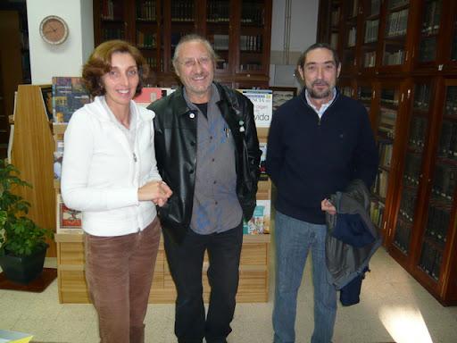 Charla con Ricardo Gómez