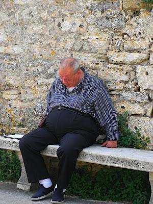 Old man in Erice
