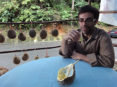 First Bite of Durian