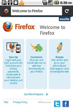 firefox na androidu