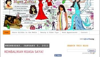 blog hanis zalikha