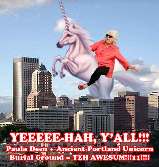 Paula Deen and the Unicorn Spirit of Portland