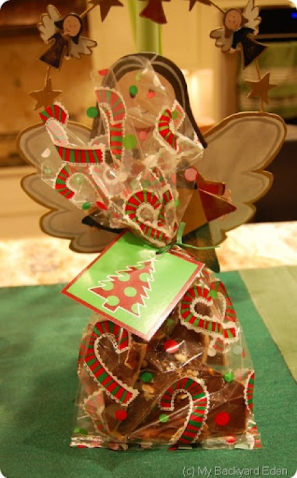 toffee gift bag