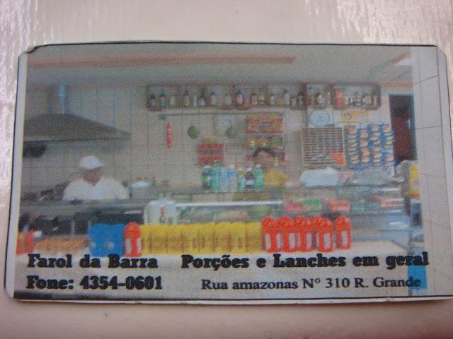 Cartão do Farol da Barra.