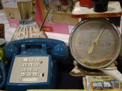 The Estate of Things chooses vintage telephone and vintage kitchen scales