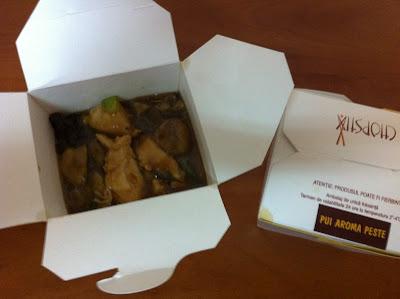 Mancare chinezasca cu livrare in Bucuresti - Chopstix