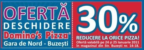 Promotie Domino's Pizza