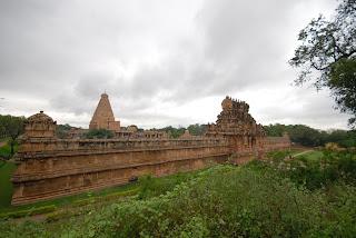 Tanjore Brihatheeswarar ramparts