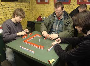 Mahjong w klubie Porfiriona