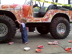 Painting Jeep_2