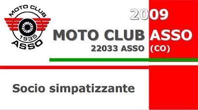 Tessera Moto Club Asso