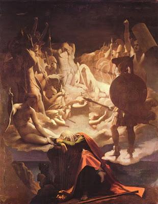 Il sogno di Ossian, Jean Auguste Dominique Ingres