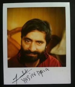 Polaroid: Muhammad Yasin Malik
