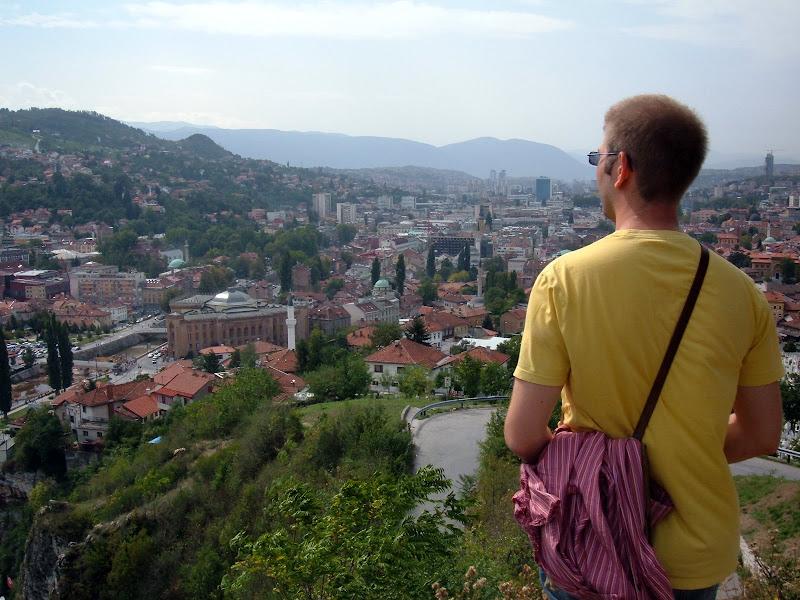 Looking Over Sarajevo