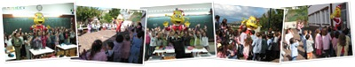 Ver Alfa Visita escola da Marinheira