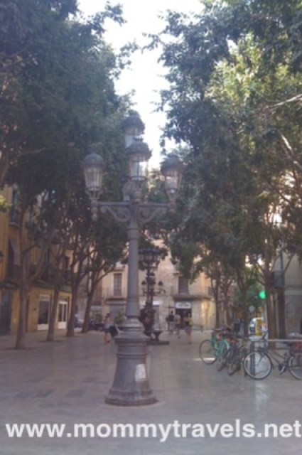 Gothic District Barcelona Spain