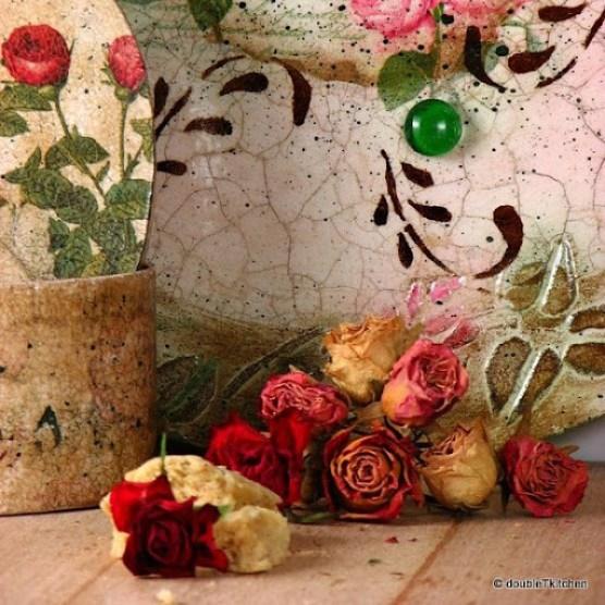 Magnetna ploča s ružama