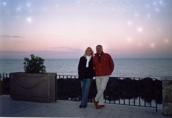 Ulla und Gino  Ihre  Gastgeber in Sizilien