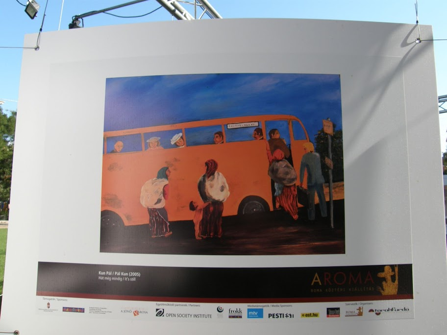 roma, cigány,  Aroma, kiállítás, fotó,  fénykép, festmény, V. kerület,   Budapest,  Szabadság tér, Magyarország,  V. kerület, belváros, cigány