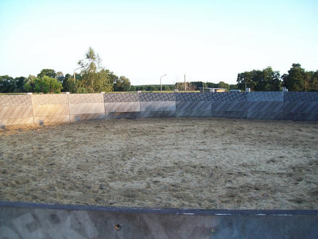 Roundpen auf dem Pferdehof