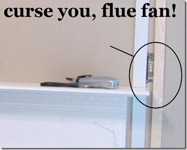 hiding tv cords in trim flue fan switch