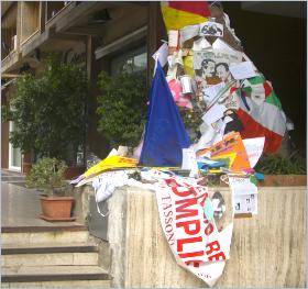 Sizilien - Palermo - Der Baum zum Andenken an den Mafia-Jäger Giovanni Falcone