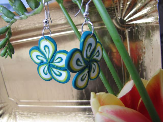 Floricele de primavara handmade Fimo