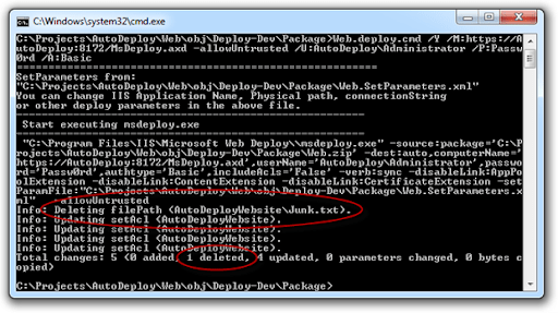 Deleted extra file from command line dpeloyment