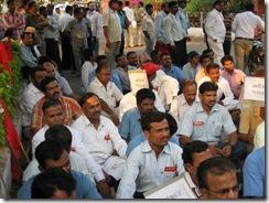Driver Guard Takkar Morcha 23-02-2010