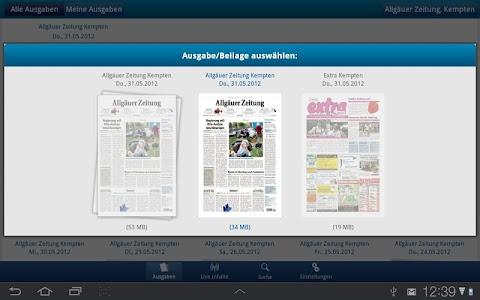 Allgäuer Zeitung screenshot 2