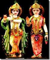 Deities of Radha Krishna