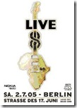 Live 8 concerts for aid to Africa